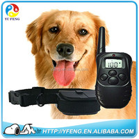 hot sale 300meter Electronic Shock Vibra LCD Display Remote Control Pet Dog Training Collar 998D For 1 Dog