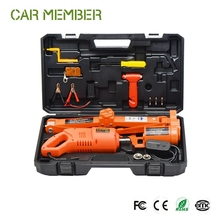 12v impact wrench max electric car jack, 2t powerful hoist rolling jack for car
