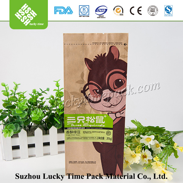 Colorful Printing Water Proof Lamination Kraft Paper Gift Bag
