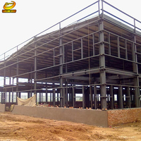 Large span factory steel structure frame workshop