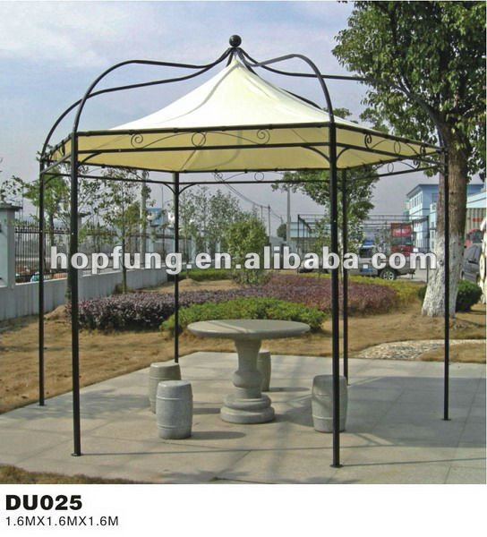 Luxury deluxe canopy/outdoor canopy/metal gazebo