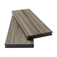easy to clean outdoor mix color co-extruded wpc composite decking