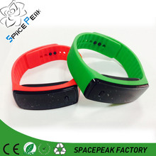 Most fashionable sport square color watches silicon, ultra thin led watch, silicone kid watch