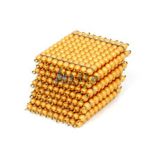 Montessori Teaching material 9 Golden Bead Hundred Squares