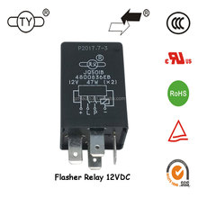 TIANYI JQ501B Standard Car Flasher Automotive Micro Relay 12V 30A for Trucks