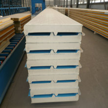 tianjin zhongjie PU wall roof sandwich panel/ cold room panel price
