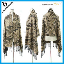 zebra stripe jacquard best selling spanish flamenco manton shawl