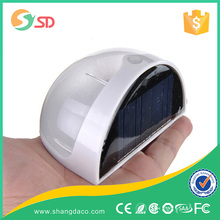 6 LED Solar Light Outdoor Motion Sensor Lamp for Garden Patio Deck Yard Home Driveway Stairs Wall