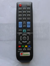 black/white tv remote control with good quality and ic chip