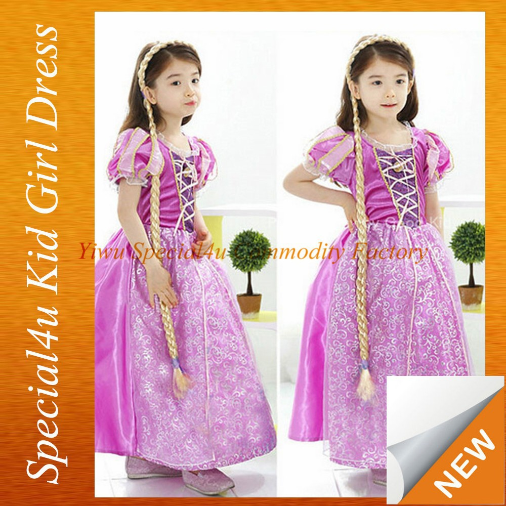Kids new beauty nice design plus size flower girl dress SPXC-226