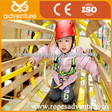 Hot sale Large Size Inclusive Funny Kids indoor playground rope course