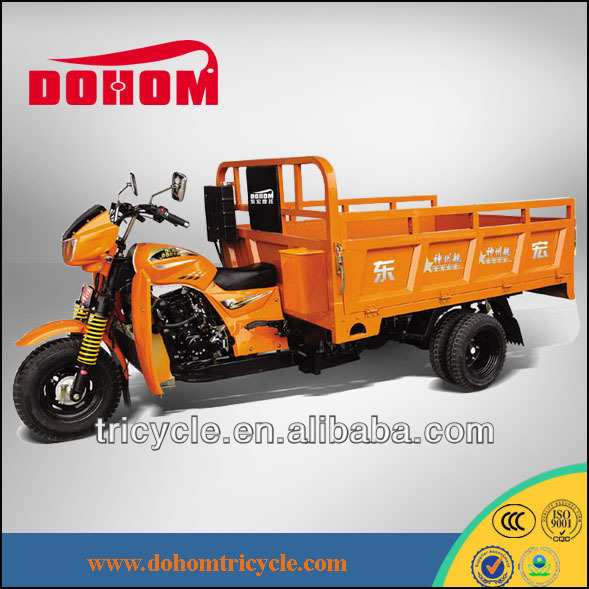 Single arm mountain three wheel diesel motorcycle