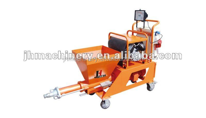 concrete pouring equipment hot sale semi-automatic mortar concrete spraying pump plastering machine