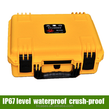 Alibaba China Shanghai manufacturer Tricases 2015 new products custom waterproof plastic tool case for electronic device