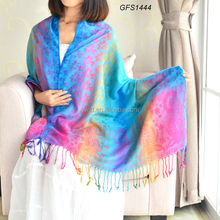 high quality fashion Nepal scarf lady shawl patterns