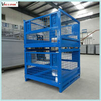 Warehouse Steel iron cages for storage