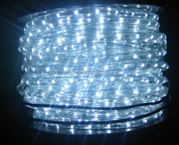 13mm 50m IP44 36leds per meter vertical white CE GS Rohs Led Rope