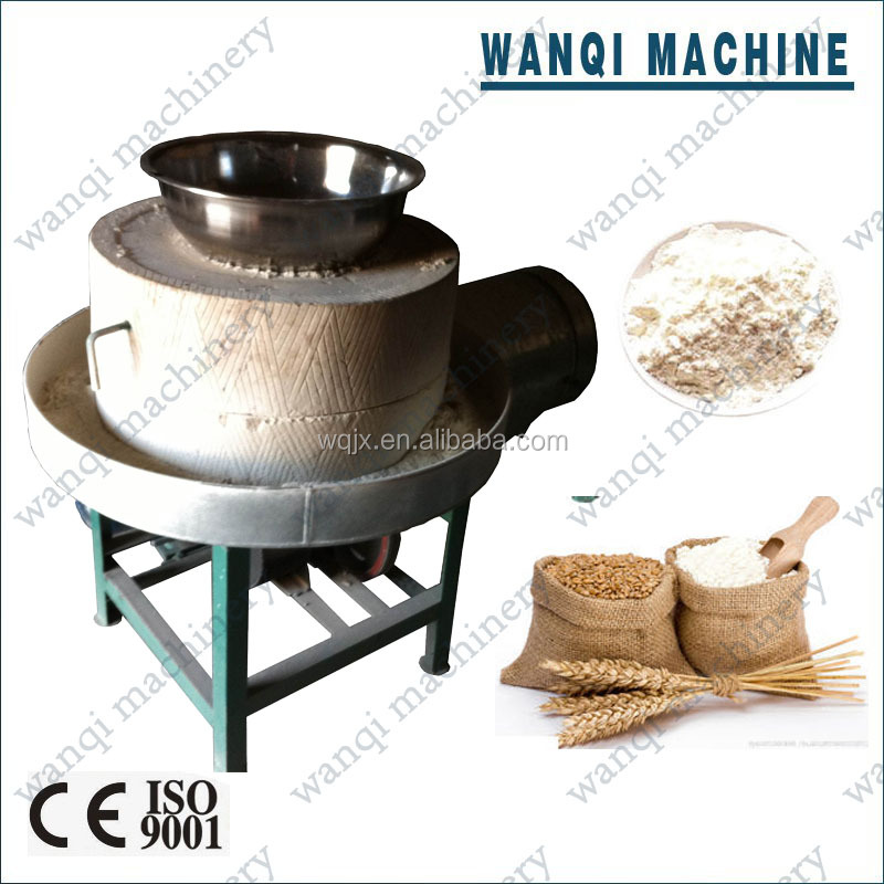 Full automatic wheat/ corn flour mill/flour stone grinding machine