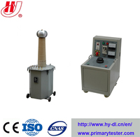 Oil Immerserd HV Testing Transformer/AC DC Oil Type Hipot Tester