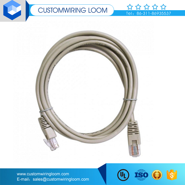 Factory price netlink cable cat6 with waterproof connector