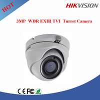 Hikvision 3mp TVI dome camera, smart ir 20m cctv camera hikvision DS-2CE56F7T-ITM