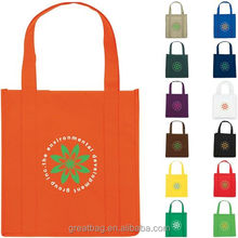 Eco Reusable Custom Non Woven Polypropylene Grocery Tote Bag