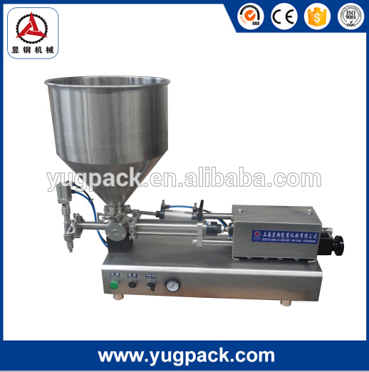 Quality glass vat weighing filling machine