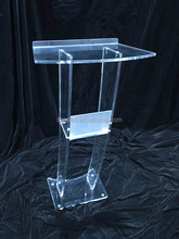 Clear Detachable Cheap Acrylic Lectern