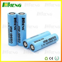 Hmeng IMR18650 2600mAh PK SAMSUNG 18650 battery 2600mAh li-ion rechargeable batteries 3.7V used in flashlight lamp torch