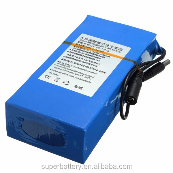 Wholesale 18650 12v 15Ah Li-ion Battery Pack for Energy Storage