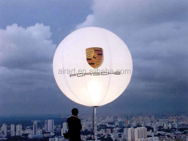 balloons lights advertisement inflatable for promoted show