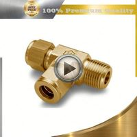 brass bellmouth pipe fitting