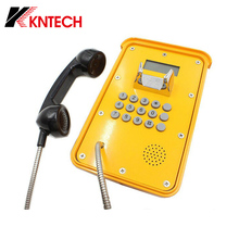 Waterproof IP66 Emergency Telephone SIP IP Rugged Industrial Phone with CE FCC RoHS Approval