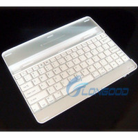 Wireless Bluetooth Aluminum Case Keyboard Dock Case cover for iPad 2 3 4
