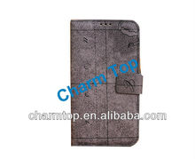 For Samsung i9500 Retro Pattern Leather Case