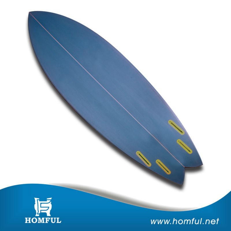 Chinese Manufacture New Model Resin Fiberglass PU Surfing Surfboard