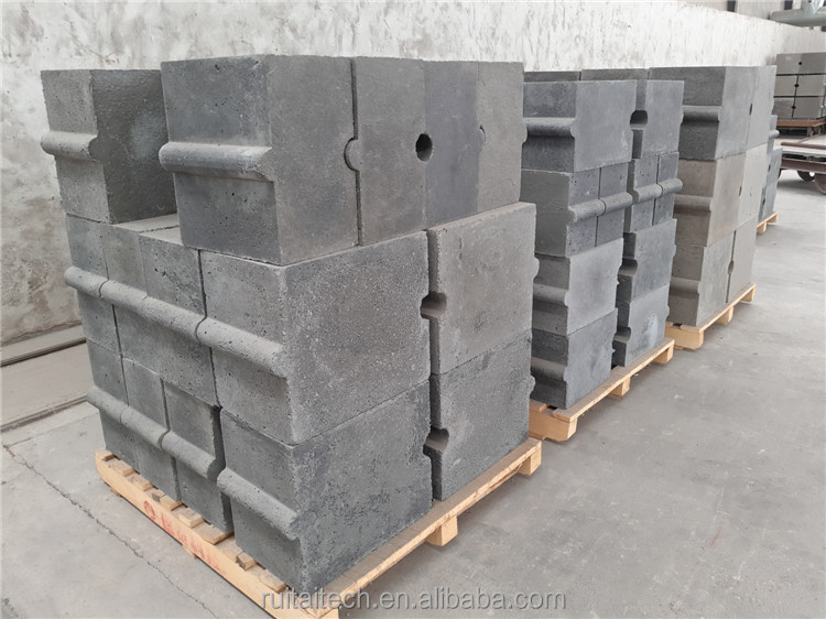 Cement industry customized fire resistant refractory precast
