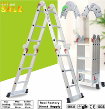 Top Quality foldaway household aluminium step ladder