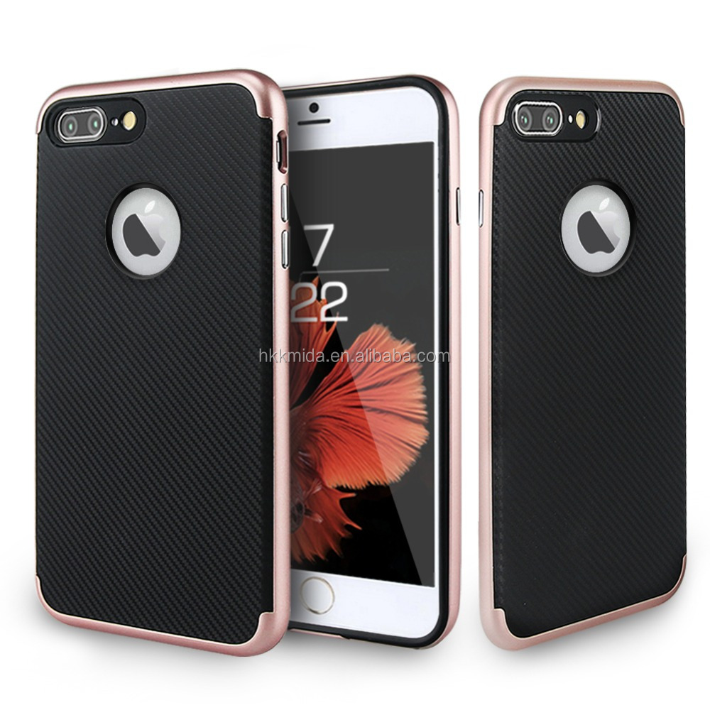 New Arrival TPU+PC Hard Smartphone Back Case Cover for iphone 7 7 plus Mobile Phone Cases