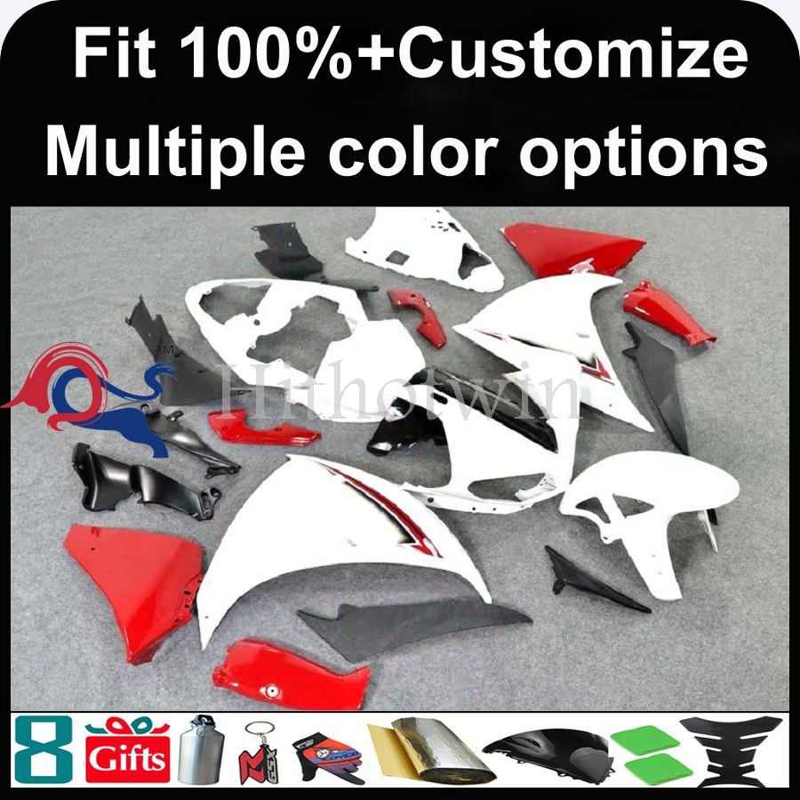 INJECTION MOLDING panels black red ABS Fairing For yamaha Fit for 2009 2010 <strong>2011</strong> 2012 YZFR1 Fairing YZF-<strong>R1</strong> 2009 2010 <strong>2011</strong> 2012 Y