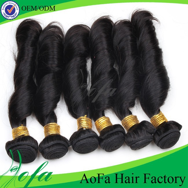 Hot selling unprocessed brazilian hair spiral curl hair extensions
