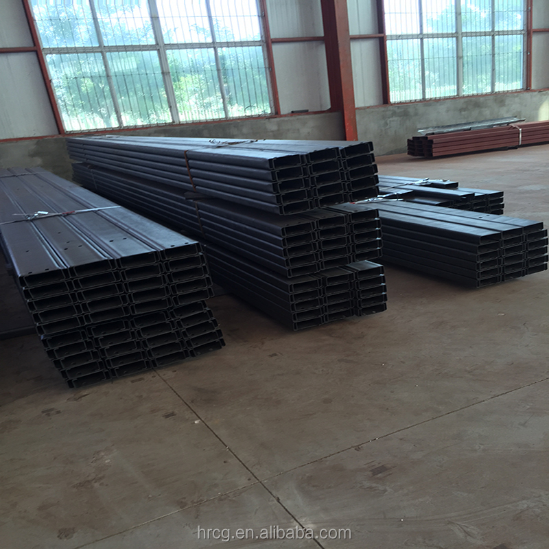high quality low price c and z purlin steel dimensions