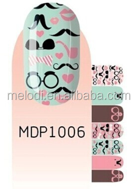 New nail wraps&nail art stencil sticker&nail art appliques
