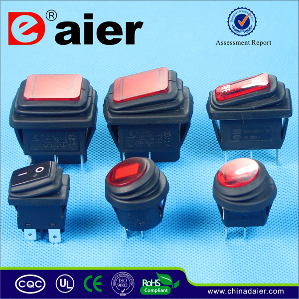 220V Illuminated Rocker Switch