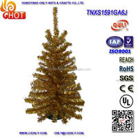 Holiday Living Golden Mini Christmas Trees