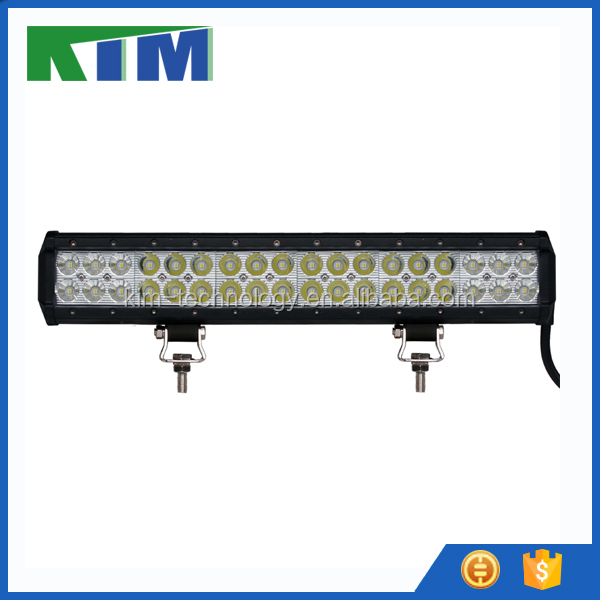 "9-32V DC 17"" 108W ATV LED light bar IP68 spotlights led light bar for car off road driving 4WD"