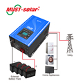 < MUST SOLAR> PV3000 MPK series dc to ac power inverter inverter 24v 220v 5000w inverter 48vdc to 220vac