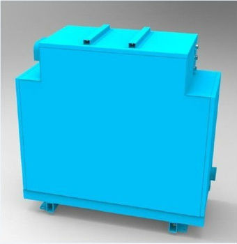battery module for electric sanitation truck