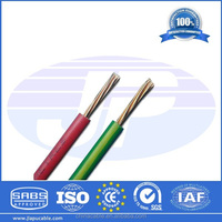 Solid single core 1.5/2.5/4/6 mm2 electrical wiring 450/750v PVC insulated cheap electrical cable wire,copper cable