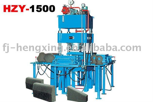HZY-1500 hydraulic portable paving brick moulding plant,mini brick plant